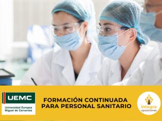 Cursos Universitarios de Especialización para Personal Sanitario